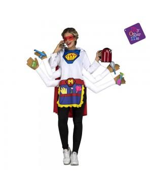 Costume Super Madre M/L per Carnevale | La Casa di Carnevale
