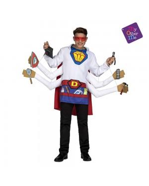 Costume Super Padre M/L per Carnevale | La Casa di Carnevale