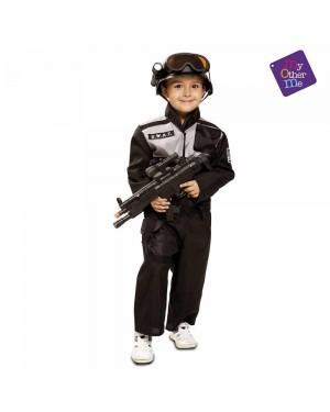 Costume Swat Bambino per Carnevale | La Casa di Carnevale