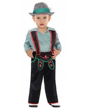 Costume Tedesco Bebè per Carnevale | La Casa di Carnevale