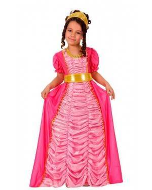 Costume Principessa Rosa Bambina