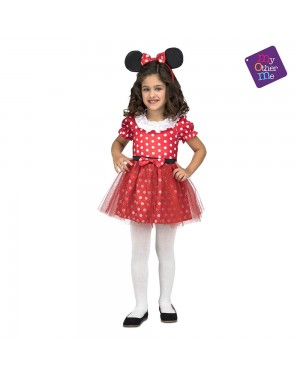 Costume Topolina Bambina per Carnevale | La Casa di Carnevale