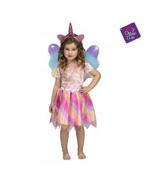 Costume Unicorno con Ali Bambina 3-6 Anni per Carnevale | La Casa di Carnevale