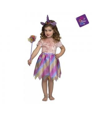 Costume Unicorno Viola 3-6 Anni per Carnevale | La Casa di Carnevale