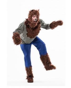 Costume Uomo Lupo Adulto T. M/L