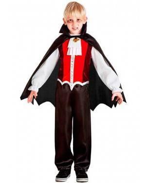 Costume Vampiro con Spilla per Carnevale | La Casa di Carnevale