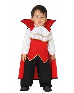 Costume Vampiro Elegante Bebè per Carnevale | La Casa di Carnevale