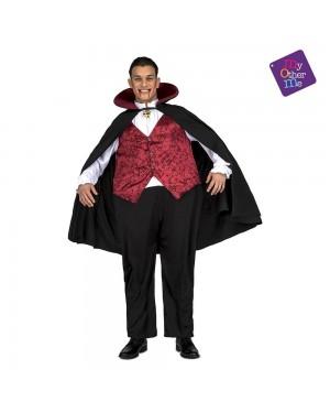 Costume Vampiro Grasso M/L per Carnevale | La Casa di Carnevale