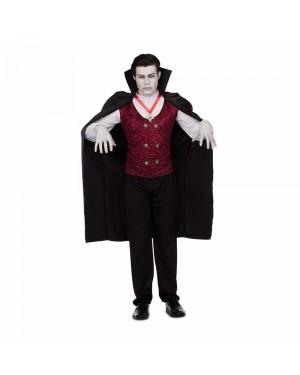 Costume Vampiro M/L per Carnevale | La Casa di Carnevale