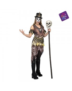 Costume Voodoo Cannibale Donna M/L per Carnevale | La Casa di Carnevale