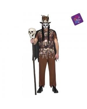 Costume Voodoo Cannibale Uomo M/L per Carnevale | La Casa di Carnevale