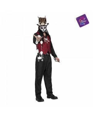Costume Voodoo Master Uomo M/L per Carnevale | La Casa di Carnevale