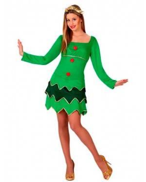 Costume Albero di Natale Sexy Tg. M/L