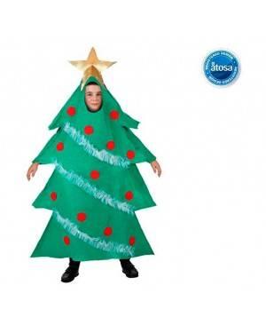 Costume Albero di Natale Tg. 7-9 Anni