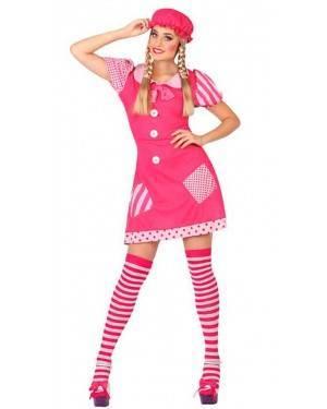 Costume Bambola di Pezza Adulto
