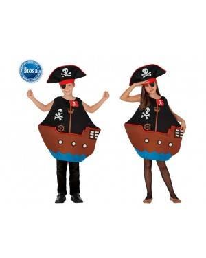 Costume Barca Pirata Bambini