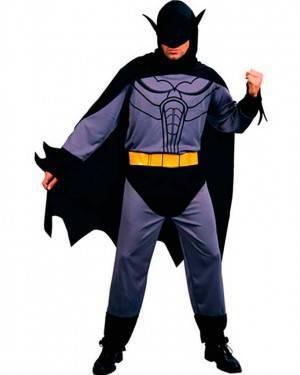 Costume Batman Grigio Adulto