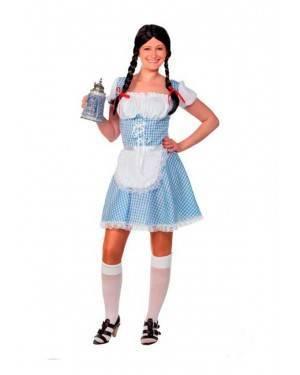 Costume Bavarese Blu. Tg. Unica