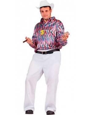 Costume Camicia Disco Adulto Tg. Unica