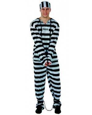 Costume Carcerato Adulto Tg. M/L