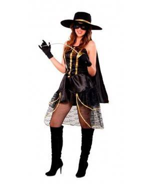 Costume Cavaliere Nero Sexy Donna