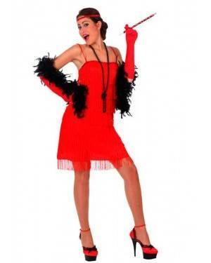 Costume Charleston Rosso Tg. M/L