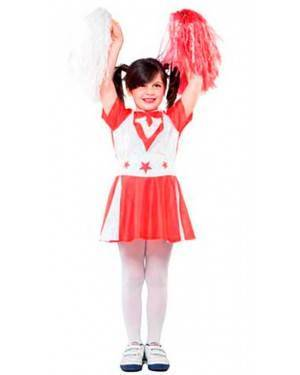 Costume Cheerleader. Tg. 4-12 Anni