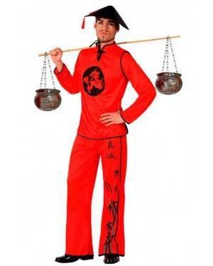 Costume Cinese Rosso