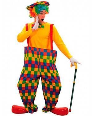 Costume Clown-Pagliaccio. Adulto Tg. Unica