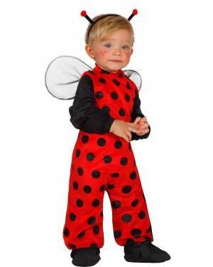 Costume Coccinella Baby