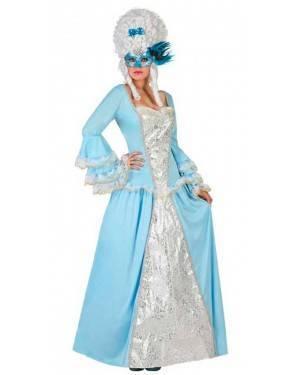 Costume Cortigiana Blu