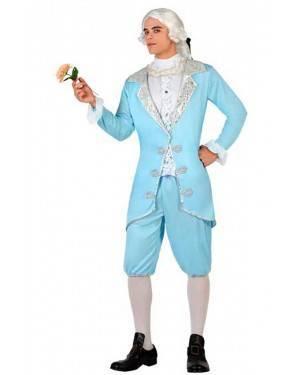 Costume Cortigiano Blu