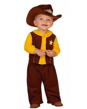 Costume Cowboy Neonato Baby