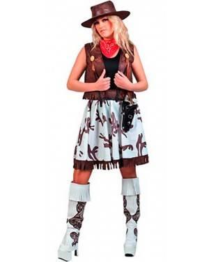 Costume Cowgirl Adulto Tg. Unica