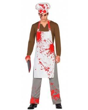 Costume Cuoco Insanguinato