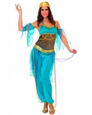 Costume Ballerina Araba Azzurra