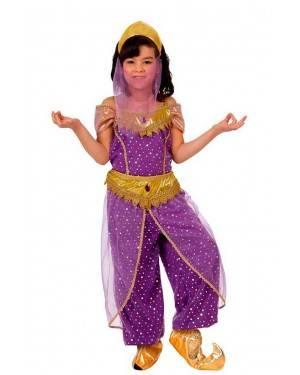 Costume Ballerina Araba Viola