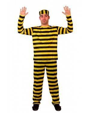 Costume Carcerato Giallo