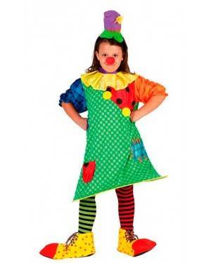 Costume Clown Bambina