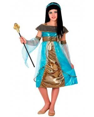 Costume Egiziana Azzurra
