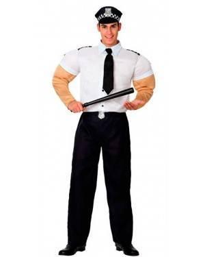 Costume Polizia con Muscoli