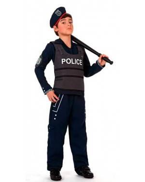Costume Polizziotto con Gilet