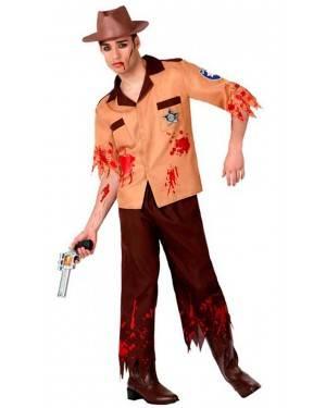 Costume Sceriffo Zombie