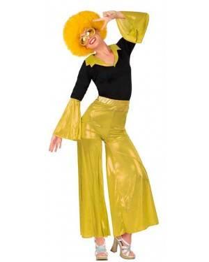 Costumi Disco Giallo Donna per Carnevale