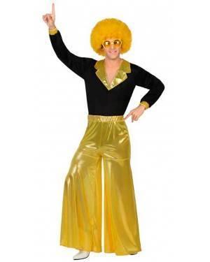 Costumi Disco Giallo Uomo per Carnevale
