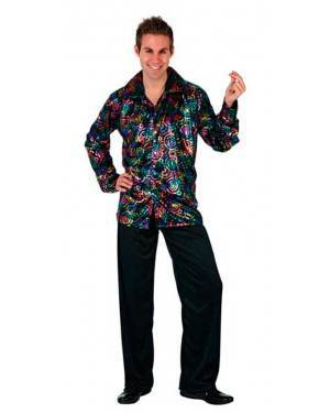 Costume Disco Man Multicolor