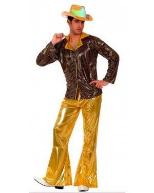 Costume Disco Man Oro