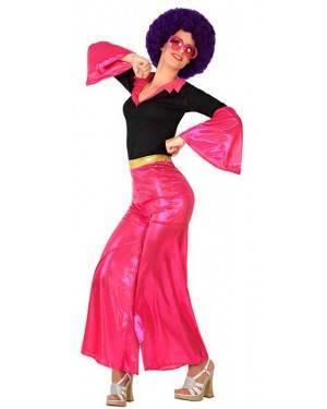 Costume Disco Rosa Donna