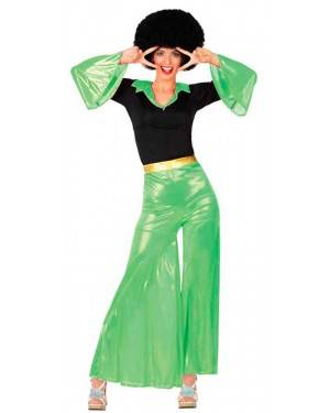 Costume Disco Verde Donna