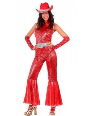 Costume Donna Disco Rosso